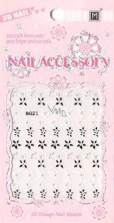 Nail Accessory 3d Nálepky Na Nehty 10100 Bg21 1 Aršík