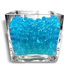 Decorative Vase Filler Balls 100grams BIG Round Deco Water Beads Jelly Vase Filler Balls Blue 66