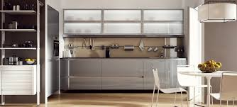 glass front kitchens