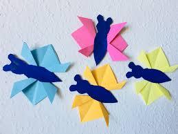 Mj Bastelt Schmetterlinge Basteln Mit Kindern Der