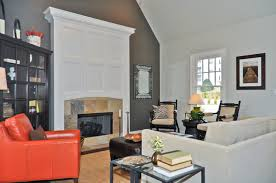 Living Rooms With Orange Accents Carameloffers