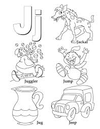 Small Picture My A to Z Coloring Book Letter J coloring page Download Free My