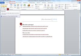 how to create a report in word univertis blank page