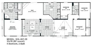 3 Bedroom Trailer Floor Plans Floor Plans Mobile Home Triple Wide Mobile  Homes Pictures Foot Wide