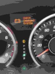 Acura Tl Check Emission System Light Check Charging System Light Turns On Off Sporadically