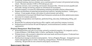 Property Manager Objective Property Management Resume Property ...