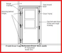 exterior door frame exterior door