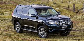 2018 toyota land cruiser v8. modren land new front and rear bumpers further help distinguish the new landcruiser  prado from current car with tweaked taillights a smaller garnish  and 2018 toyota land cruiser v8