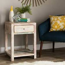 image is loading handmade stripped teak end table india