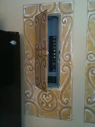 24 best hiding elec panel images on pinterest Covering Fuse Box Ideas how to hide an electrical panel box! Fuse Box vs Breaker Box