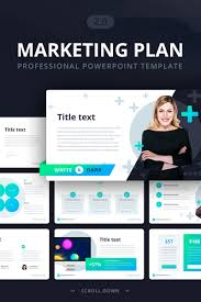 Marketing Plan Powerpoints Marketing Plan 2 0 Powerpoint Template 70103