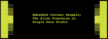 Example Of Franchise Embedded Content Example The Alien Franchise In Google Data