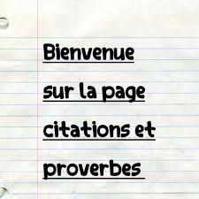 Citations Et Proverbes Home Facebook