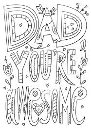 Small Picture Dad Youre Awesome coloring page Free Printable Coloring Pages