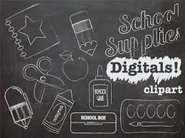 School Chalkboard Background Chalkboard Background And Chalk Look Back To School Clip Art