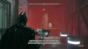 gunrunner side missions (most wanted) batman arkham knight Subway Fuse Box Arkham the panel that you need to break into, to open the gate gunrunner arkham city subway fuse box riddle