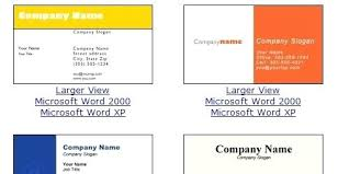 Ms Word Blank Business Card Template Free Printable Business Card Templates Microsoft Word Template