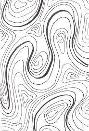 Contour Patterns Unique Design Ideas
