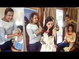 nazriya marriage makeup photos 6