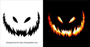 pumpkin carving patterns free 10 free scary halloween pumpkin carving patterns stencils ideas 2014