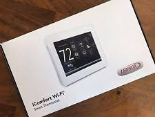 lennox smart thermostat. new in box - lennox 10f81 icomfort wi-fi touchscreen thermostat ~latest version lennox smart