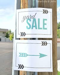 free garage sale signs free yard sale sign printables at crafts printables yard sale
