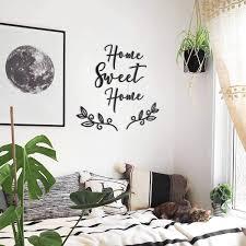 HOAGARD   Home Sweet Home, Metall-Wandkunst