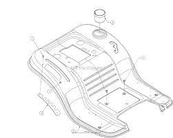 Troy bilt 13wn77bs011 pony 2017 parts diagram for fender