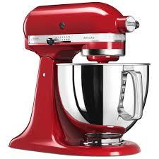 kitchenaid 5ksm125ber artisan 4 8l tilt head stand mixer empire red