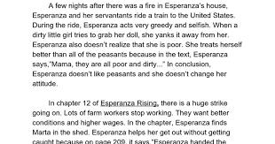 esperanza rising essay luke google docs