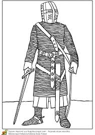 Coloriage Chevalier Du Xiiie Si Cle