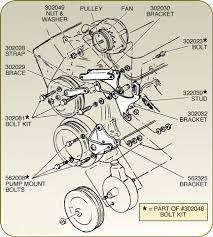 corvette alternator bracket with power steering 427 454 1968 1979 Corvette Alternator Wire Diagram click to zoom 1979 corvette alternator wire diagram