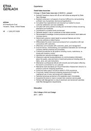 Top Sales Associate Resume Examples Sales Associate Resume Sample