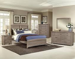 Driftwood Bedroom Furniture American Transitions 4 Piece Panel Bedroom Set In Driftwood Oak
