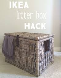 cat litter box furniture diy. perfect cat super easy ikea hack turn wicker chest into a secret litter box hide out  get some yourself pawtastic adorable cat apparel to cat litter box furniture diy o
