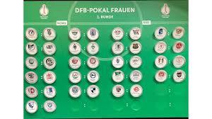 Bayern erschwischt schwieriges los und muss auswärts ran. Dfb Pokal Der Frauen Erste Runde Ausgelost Dfb Deutscher Fussball Bund E V