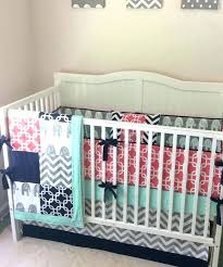 c and mint baby bedding navy and mint crib bedding c navy mint and gray crib