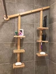 I designed this unique, no-hassle, minimalist bamboo shower caddy for  homeowners and