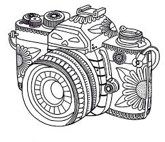 fun printable coloring pages. Perfect Coloring Free Adult Coloring Pages Camera On Fun Printable Coloring Pages P