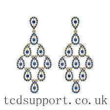 brilliant mood oversized chandelier earring earrings
