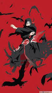 Itachi uchiha art, Naruto wallpaper iphone