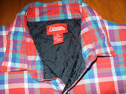 Coleman Plaid Flannel Shirt With Quilted Lining - Mens Size Xl ... & Coleman Plaid Flannel Shirt With Quilted Lining - Mens Size Xl Multi-color Adamdwight.com