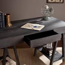 Southern Enterprises Alaska Desk in Gray Wash HO8722