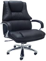 extra wide 500 lbs capacity leather desk chair w 28