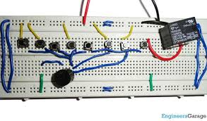 electronic lock using switches circuit diagram electronic lock code using switches