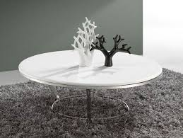 stylish white round coffee tables with low white round coffee table