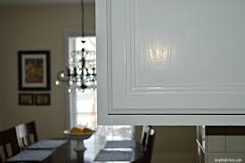 image of painting white kitchen cabinets