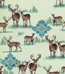 Joann Fabrics Patterns Enchanting Novelty Cotton FabricDeer JOANN