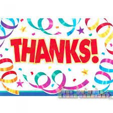 Happy Birthday Party Streamers Thank You Notes W Envelopes 8ct