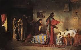 Фоторепортаж Библейские сюжеты в живописи В Д Поленова Портал  Воскрешение дочери Иаира